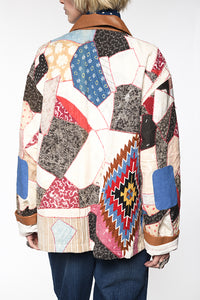Double D Ranch Quilt Jacket ~ Bunkhouse Blanket