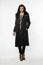 Load image into Gallery viewer, Double D Ranch Duster ~ Decatur Coat ~ C2626 6Whiskey dd black jacket