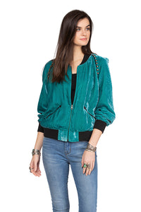 Double D Ranch jacket 6 Whiskey Just another cowboy in teal black cuff C2691 Bakersfield Collection