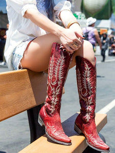 Old Gringo Tall Red Mayra Boot 6Whiskey