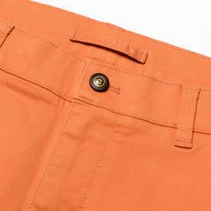 "Duck Head 9"" Gold School Chino shorts sunbaked orange 6Whiskey 6 Whiskey six whisky"