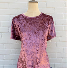 Load image into Gallery viewer, Aunt Wanda Crushed Velvet Tee