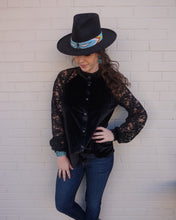 Load image into Gallery viewer, Tasha Polizzi ~ Blouse ~ Willa ~ Black 6 Whiskey six whisky
