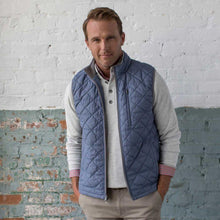 Load image into Gallery viewer, Ottley Quilted Full ZIP Vest