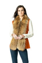 Load image into Gallery viewer, Double D Ranch Hondo Vest in Shasta Orange 6Whiskey Nashville Fall 2020 V961