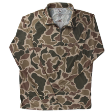 Load image into Gallery viewer, Over Under ~ Duck Camo Jacket 1/4 Zip 6 Whiskey Georgetown water proof six whisky