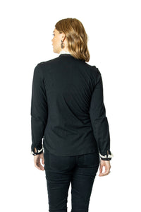 DDR Sweet Baby June Long Sleeve Top in Black 6Whiskey Nashville Fall 2020 T3367