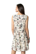 Load image into Gallery viewer, Double d 6 whiskey doodle dandy dress v neck D1271 Willies Picnic six whisky back view