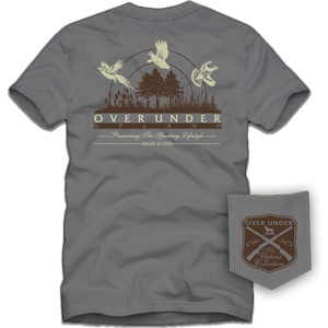 Short Sleeve Upland Collection Tee Shirt by Over Under