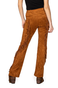 Double D Ranch Wild West Fringe Pant in Shasta 6Whiskey P470