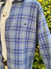 Load image into Gallery viewer, Duck Head Westover Quilted Button Down Shirt 6Whiskey Blue Plaid Fall 2020