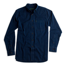 Load image into Gallery viewer, Duck Head Dark Denim Long Sleeve Shirt