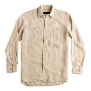 Duck Head Linen Work Shirt