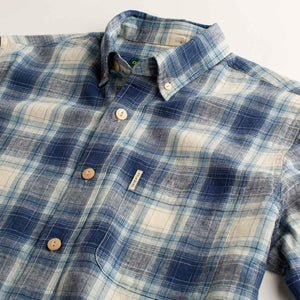 Duck Head Blue Plaid Button-Down