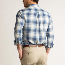 Load image into Gallery viewer, Duck Head Blue Plaid Button-Down