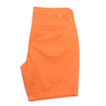 "Load image into Gallery viewer, Duck Head 9"" Gold School Chino shorts sunbaked orange 6Whiskey 6 Whiskey six whisky"