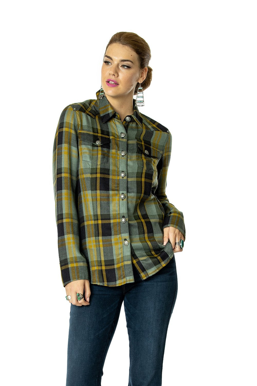 Double D Ranch - Rodgers Plaid Button Down