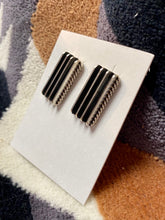 Load image into Gallery viewer, Silver Bar Stud Earrings