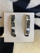 Load image into Gallery viewer, White Buffalo Sterling Earrings 6Whiskey
