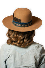 Load image into Gallery viewer, HATS Buffalo Joe Felt Hat Double D Ranch ~ FA544 Tan dd 6Whiskey six whisky Georgetown Texas