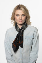 Load image into Gallery viewer, Double D Ranch Scarf ~ Rainbird FA645 DD Ranch 6 Whiskey six whisky