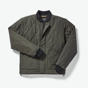 Filson quilted pack jacket at 6whiskey