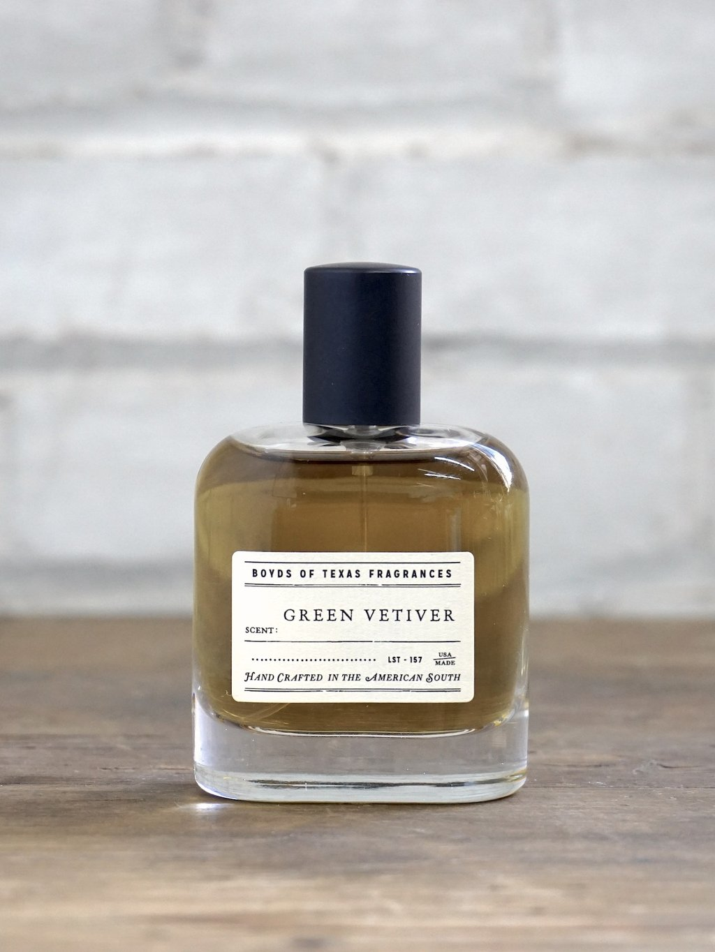 Green Vetiver - Eau de Parfum ~ Boyd's of Texas 6 Whiskey all natural scent perfume