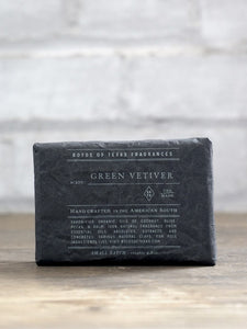 Green Vetiver Deep Cleansing Bar Soap