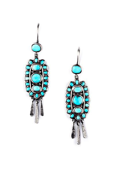 Double D Ranch Hildago Earrings ~ Peyote Bird DDRanch 6Whiskey