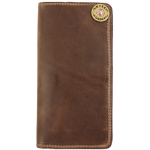 Load image into Gallery viewer, Over Under ~ Horween Checkbook Wallet