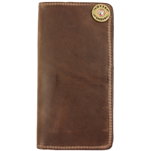 Over Under ~ Horween Checkbook Wallet