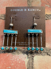 Load image into Gallery viewer, Double D Ranch Zuni Rain Dance Earrings DD Ranch 6 Whiskey six whisky