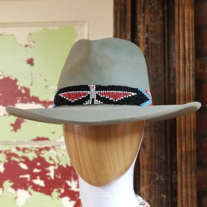 HATS DD Arizona Highway Felt Hat in Skystone or Black by Double D Ranch