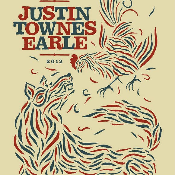 Justin Townes Earle Poster