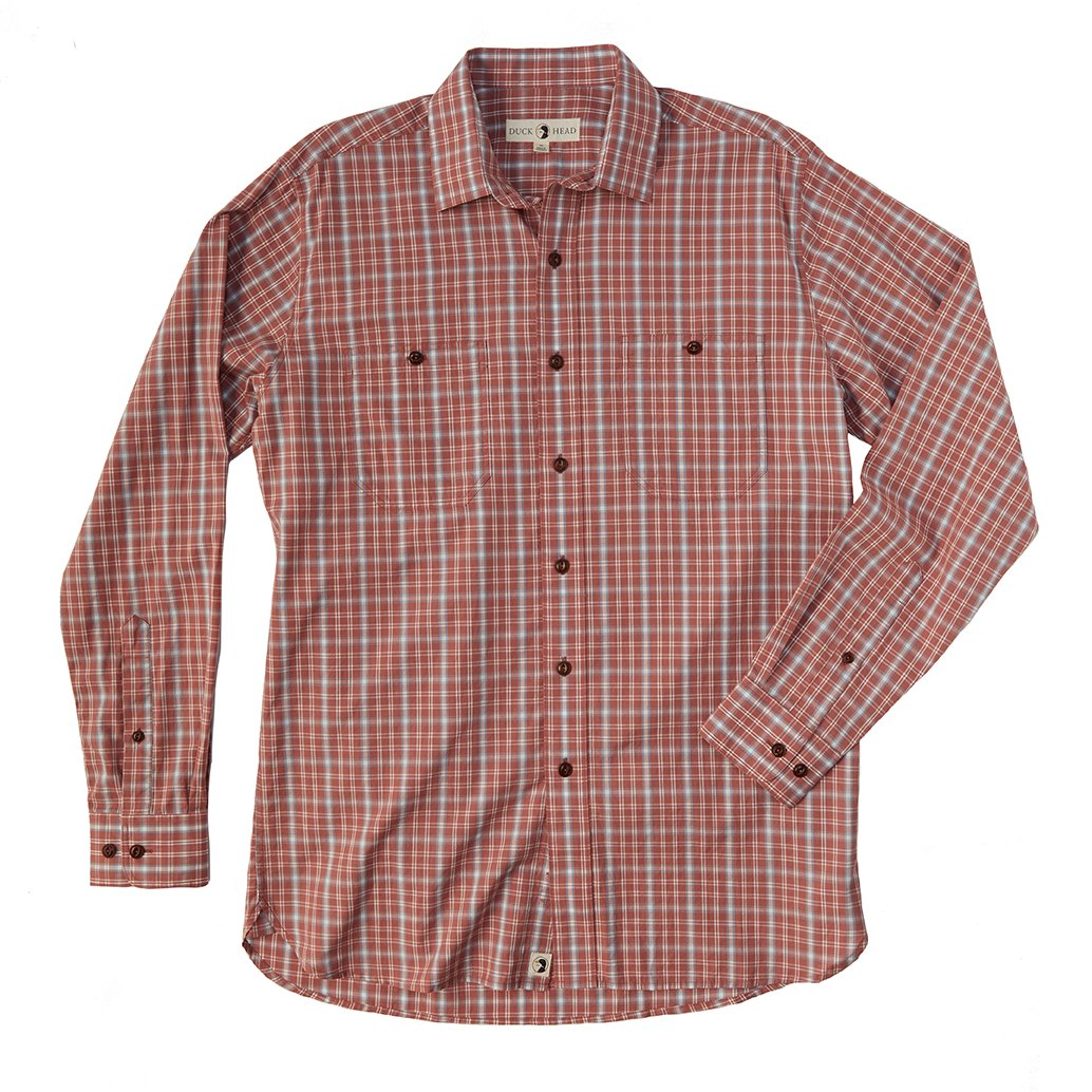 Duck Head Appalachian red plaid work shirt 6Whiskey 6 Whiskey six whisky