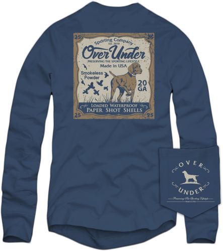 Over Under ~ Long Sleeve Shirt ~ Upland Classic
