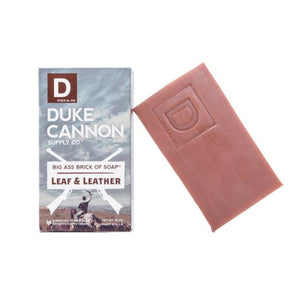 Duke Cannon ~ Big Ass Brick of Soap ~ Leaf & Leather