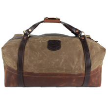 Load image into Gallery viewer, Over Under ~ Logger Duffel Bag 6 Whiskey American made six whisky Georgetown