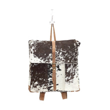 Load image into Gallery viewer, Large Cowhide Backpack