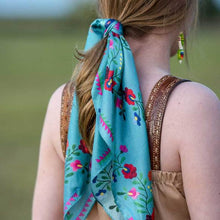 Load image into Gallery viewer, Scarf ~ Turquoise Fiesta
