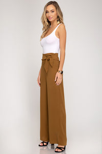 Long Pants with Side Tie