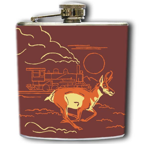 Pronghorn Prairie Flask