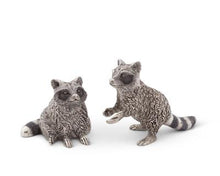 Load image into Gallery viewer, Raccoon Salt and Pepper