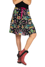 Load image into Gallery viewer, Double D 6 Whiskey Honky Tonk Cat Bakersfield Collection skirt S1695