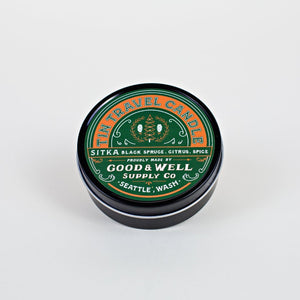 sitka travel National Park Collection 6 whiskey good well supply all natural six whisky wood wick soy tin