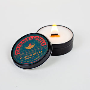 Soltice travel National Park Collection 6 whiskey good well supply all natural six whisky wood wick soy tin