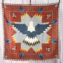 Load image into Gallery viewer, Scarf ~ Soaring Eagle Star Quilt