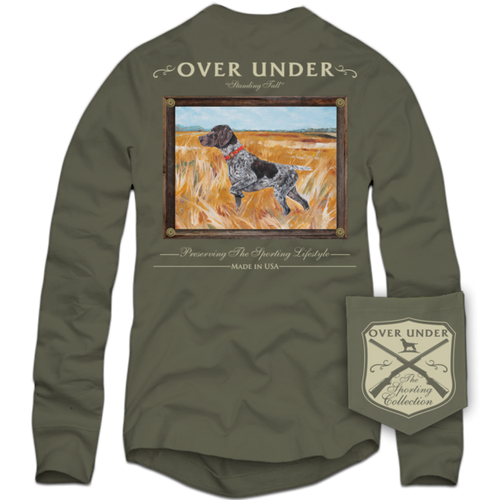 Over Under ~ Long Sleeve Shirt ~ Standing Tall 6 Whiskey