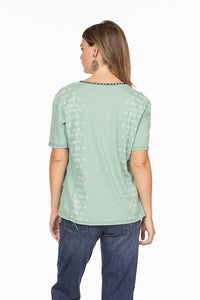 Double D Ranch buffalo ranch shirt v neck t3208 midnight cowboy DDR DD Ranch 6whiskey six whisky