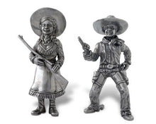 Load image into Gallery viewer, Cowgirl/Cowboy Salt & Pepper